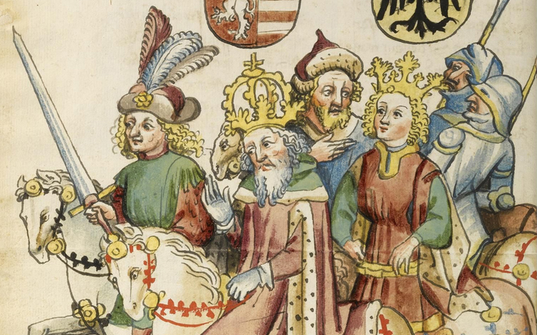 Buch kaiser sigismund handschrift windeck w p