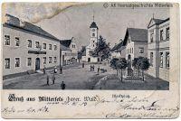 P08-Dorfplatz-Mitterfels-um-1905