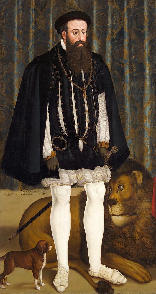 20 Herzog Albert V 1528 1579 w