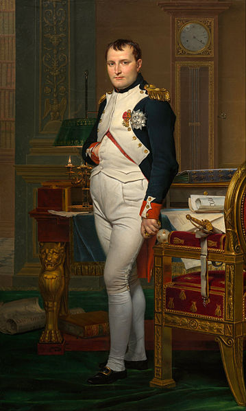 27 01 jacques-louis david - the emperor napoleon in his study at the tuileries - google art project