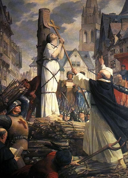 joan of arc burning at stake