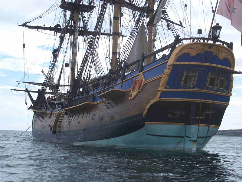 12 01 hms bark endeavour - replica01