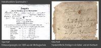 08-Heimatkundliche-Spurensuche-1---Entlassungszeugnis-1888---Handschriftlicher-Eintrag-in-Gebetbuch