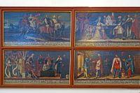 15_Bilderstrecke_in_der_Kapitelkirche_erzaehlt_aus_der_Geschichte_des_Klosters