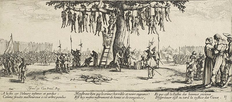 18 01 the hanging by jacques callot