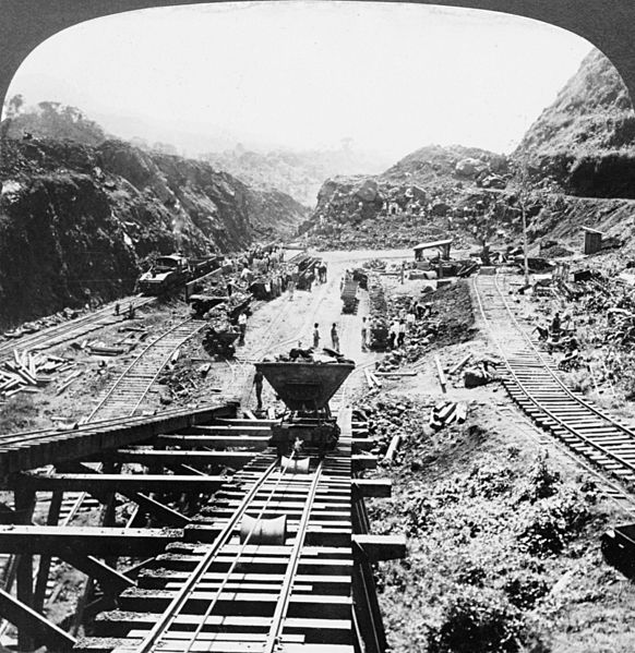 03 03 panama canal under construction 1907
