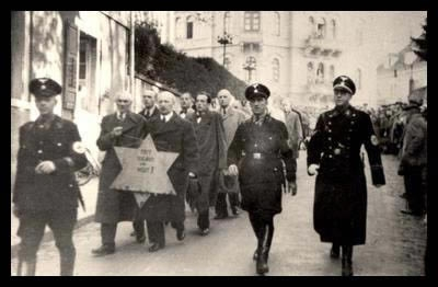 09 11 jews forced to march with star kristallnacht